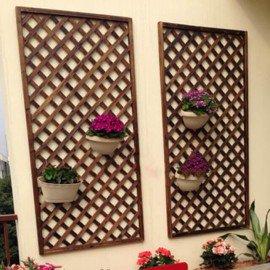 Деревянные решетки на стену