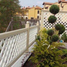 Решетка для оформления итальянского дворика