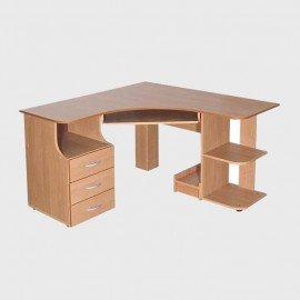 Компьютерные столы из мебельного щита