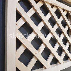 Декоративные решетки из cосны и лиственницы