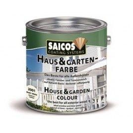 Краска для дерева для наружных и внутренних работ Haus and Garten-Farbe-2310 Бордо красный 10л
