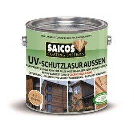Защитная лазурь от УФ-лучей для наружных и внутренних работ UV-schutzlazur aussen-1101 Бесцветный 0,125л