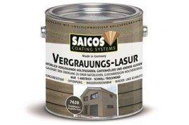 Защитная специальная лазурь Vergrauungs Lasur 7620 Графитово-серый 0,125л