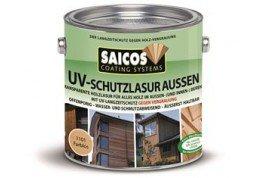Защитная лазурь от УФ-лучей для наружных и внутренних работ UV-schutzlazur aussen 1101 Бесцветный 0,125л