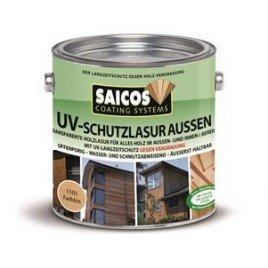 Защитная лазурь от УФ-лучей для наружных и внутренних работ UV-schutzlazur aussen 1181 Орех 2,5л