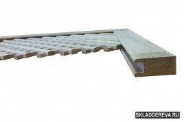 Рамный брус из дуба 2,0 м (паз 11х10мм) Сечение: 20мм х 45мм Подходит для: Б-6; Д-6; Д-11; Б-18; Д-18.