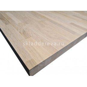 Мебельный щит из дуба категория А 40мм×1000мм×3000мм