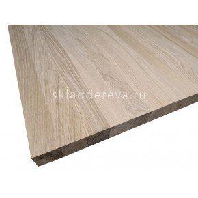 Мебельный щит из дуба категория Э 40мм×400мм×3000мм