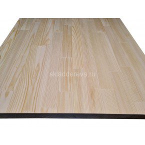 Мебельный щит из сосны без сучков 40мм×1000мм×3000мм