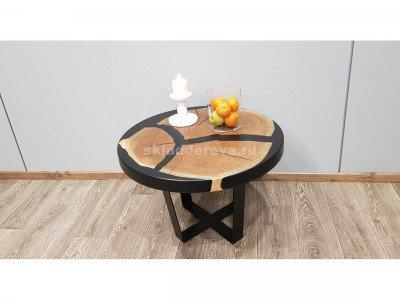 Кофейный столик из спила дуба - Нет в наличии