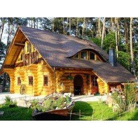 Фасады, деревянные дома, беседки, заборы