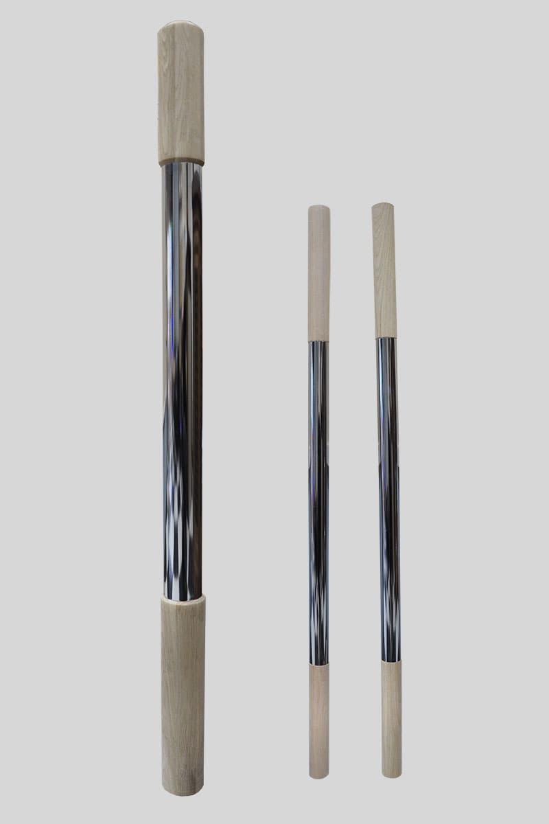 Столб начальный комбинированный №1 лиственница